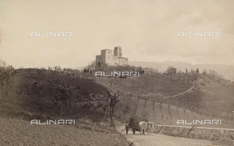 <caption>Torre del Castellano, Reggello, Firenze</caption>1908