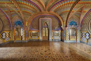 Sala dei Pavoni Sammezzano
